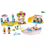 Andrea si Stephanie in vacanta la mare LEGO Juniors