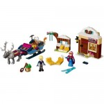 Anna si Kristoff si aventura lor cu sania LEGO Disney Princess