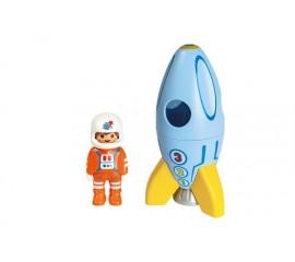 1.2.3 Astronaut Cu Racheta