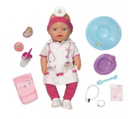 Baby Born Papusa Doctor
