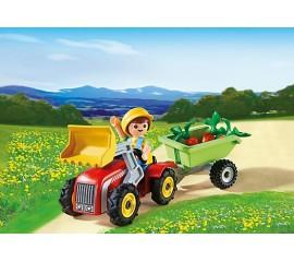 Copil Cu Tractoras