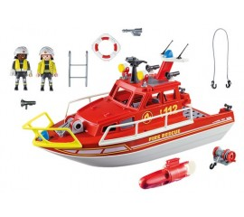 Barca De Salvare A Pompierilor