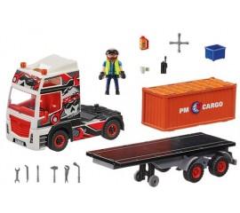 Camion Cu Container De Marfa