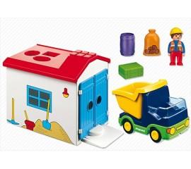 Camion Cu Garaj