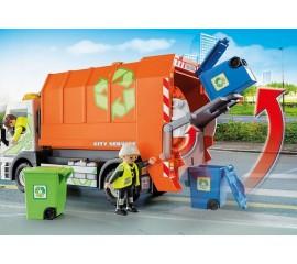 Camion De Reciclat