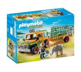 Camion Forestier si Elefant