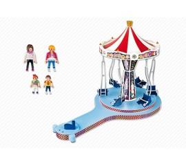 Caruselul Din Parcul De Distractie