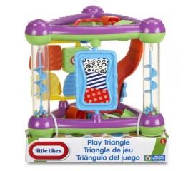 Centru de joaca Triunghi - Violet/Verde - Little Tikes