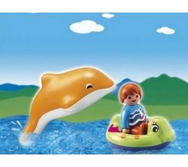 Copil Cu Delfin
