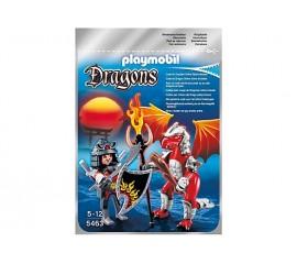 Dragonul Focului Cu Luptator