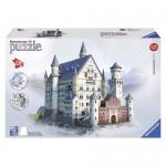 Puzzle 3D Castelul Neuschwanstein, 216 piese