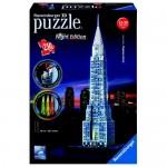 Puzzle 3D Cladirea Chrysler, Editie Luminoasa, 216 piese