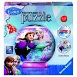 Puzzle 3D Frozen, 72 piese Ravensburger