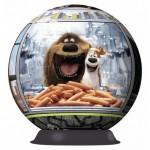 Puzzle 3D Viata Secreta a Animalelor, 72 piese