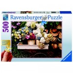 Puzzle Flori si palarii, 500 piese