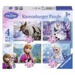 Puzzle Frozen 12/16/20/24 piese