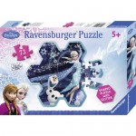 Puzzle Frozen Fulgul de Zapada al Elsei, 73 piese