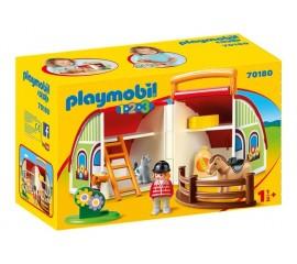 1.2.3 Set Mobil Ferma - Playmobil