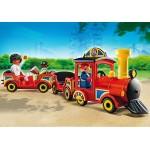 Trenul Copiilor Din Parcul De Distractie
