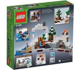 Ascunzisul din zapada LEGO Minecraft