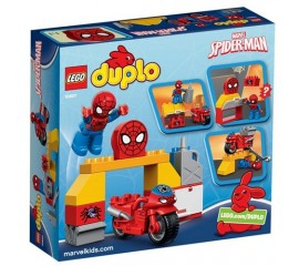 Atelierul Omului Paianjen LEGO DUPLO