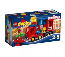 Aventura Omului Paianjen cu camionul sau LEGO DUPLO