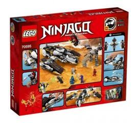 Avion invizibil pentru incursiuni LEGO Ninjago