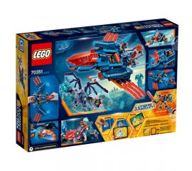 Avionul Falcon Blaster al lui Clay LEGO Nexo Knights
