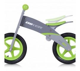 Bicicleta din lemn Biker Verde