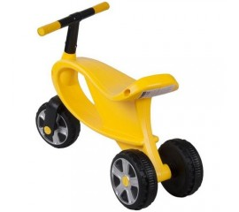 Bicicleta fara pedale cu 3 roti Gogo - Sun Baby - Galben