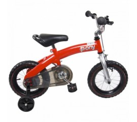 Bicicleta Multifunctionala Pony Rosu