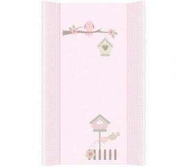 Blat de infasat mare CB130 Garden Pink - Ceba Baby