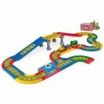 Cale ferata cu pod si pista 4,1m lungime Kid Cars 3D