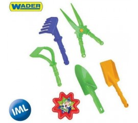 Carucior cu set pentru gradinarit - Wader