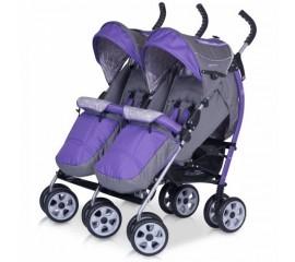 Carucior pentru gemeni Duo Comfort Violet