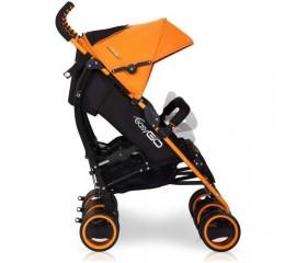 Carucior pentru gemeni Duo Comfort - Easy Go - Electric Orange