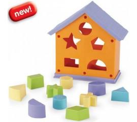 Casuta cuburi de constructii Cottage