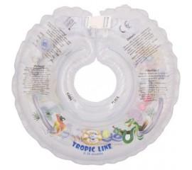 Colac de gat pentru bebelusi - SwimBee - Transparent