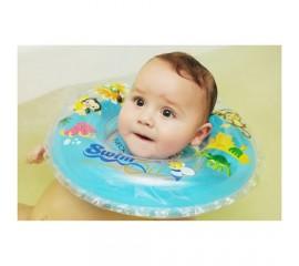 Colac de gat pentru bebelusi - SwimBee - Turcoaz