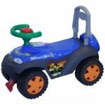 Jeep Ride-On cu Melodii Albastru