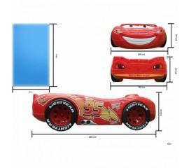 Pat in forma de masina McQueen