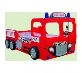 Pat in forma de masina Pompieri