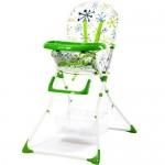 Scaun de masa pentru copii Niami Mamakids - Verde cu Floricele