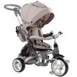 Tricicleta multifunctionala Little Tiger - Sun Baby - Bej