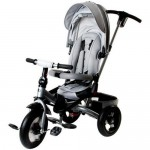 Tricicleta multifunctionala Little Tiger T400 - Sun Baby - Gri