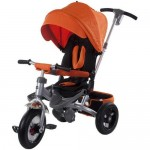Tricicleta multifunctionala Little Tiger T400 - Portocaliu