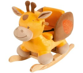 Balansoar cu protectii laterale Giraffe