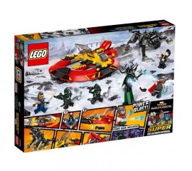 Batalia suprema pentru Asgard LEGO Superheroes