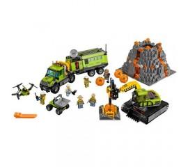 Baza de explorare a vulcanului LEGO City