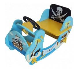 Balansoar din lemn Blue Pirate Boat